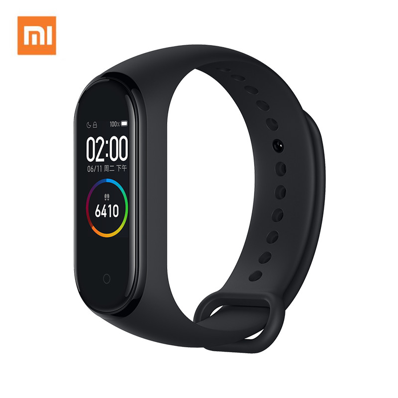 "Global Versie Xiao mi mi band 4 Zwemmen fitness Tracker Sport Mi Band 4 0.95 ""kleur amoled screen Smart polsband Bluetooth 5.0-in Slimme polsbandjes van Consumentenelektronica op  Groep 1"
