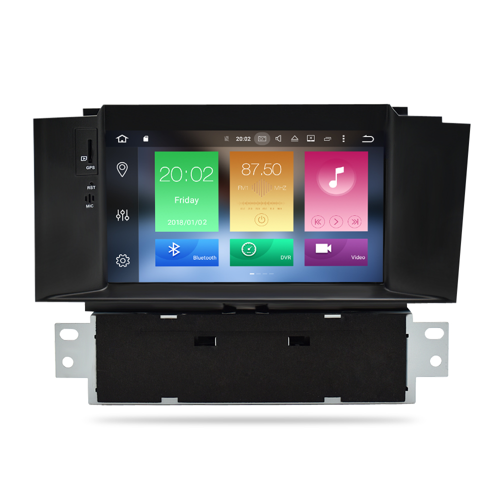 Image 2 - Android 8.1 Car Stereo For Citroen C4 C4L DS4 2013 2014 2015 2016 DVD Player Auto Radio Video FM GPS Navigation 2 Din Multimedia-in Car Multimedia Player from Automobiles & Motorcycles