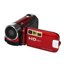Venta caliente y Al Por Mayor! A-919 HD 1080 P 16 M 16X Zoom Digital Videocámara Cámara de Vídeo DV