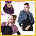 Hot moda fibra de carvão vegetal cachecol magia magia cachecol de lã xaile 35 cores H3086