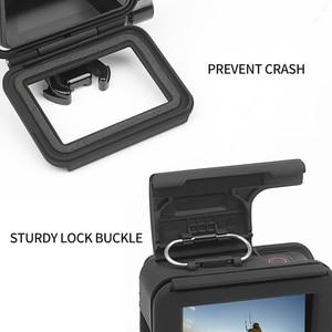 Image 2 - לירות מגן מסגרת מקרה הר עבור GoPro גיבור 7 6 5 שחור מצלמה מגן גבול עבור ללכת פרו 6 5 פעולה מצלמה אבזר