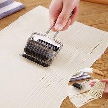 DIY нержавеющая сталь ручной раздел Нескользящая ручка прессовочная машина лапша резки нож шалот резак производителей