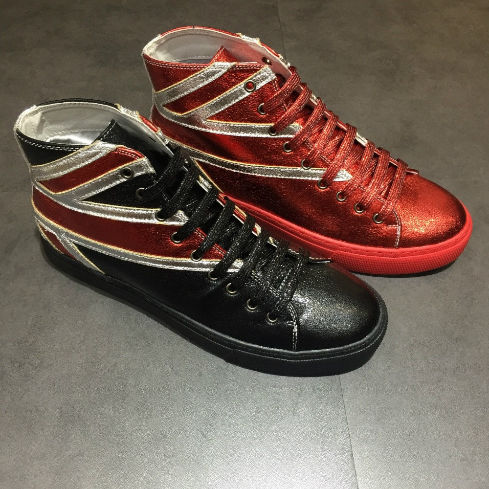 2017 new Men's casual shoes high-tops Men fashion flats shoes Spring Autumn fashion boots free shipping enmayer spring autumn white red black spring summer autumn fashion new men s women casual shoes flats shoes free shipping