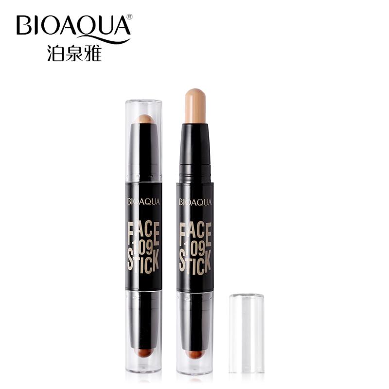 BIOAQUA Märke 2 I 1 Bronzer Highlighter Stick 3D Ansikts Makeup - Smink - Foto 3