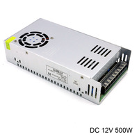 DC 12V Switching Power Supply AC 110V/220V to DC 42A 40A 500W Power Source Led Driver