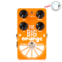 New Arrival Caline CP-54 OD Guitar Pedal Overdrive THE BIG ORANGE crushing overdrive Guitar Effect Pedal True Bypass Effect Sale biyang x drive overdrive guitar effect pedal stompbox for electric guitar chipset changeable to create diffenet tone od 8