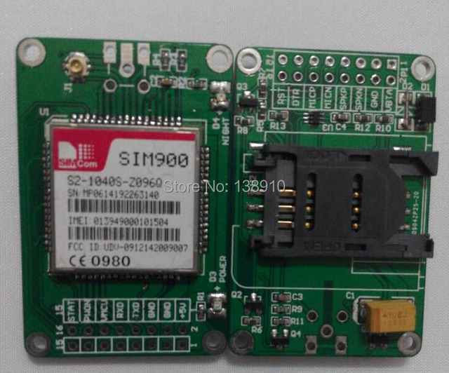 2015 latest GSM SIM900 SIM900A Module GPRS Shield Compatible for Arduino for GSM Cell Phone Achieve SMS, MMS,GPRS