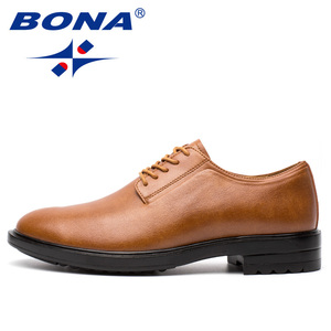 Image 5 - BONA New Arrival Classics Style Men Formal Shoes Microfiber Men Dress Shoes Lace Up Male Office Shoes Comfort Free Shipping