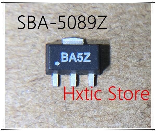 10pcs SBA-5089Z SBA-5089 SBA5089Z SBA5089 MARKING BA5ZSOT-89 IC