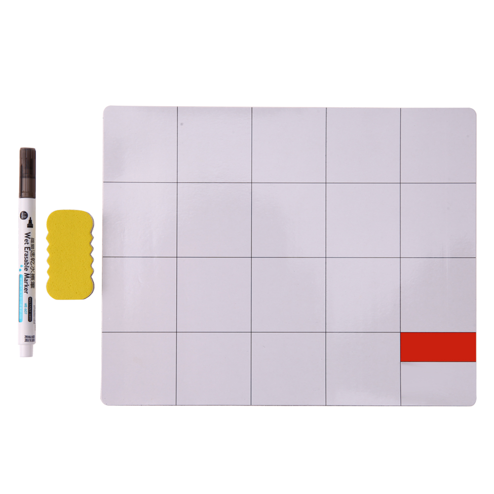 Magnetic Repair Mat Screw Work Pad with Marker Pen <font><b>Eraser</b></font> for <font><b>Cell</b></font> <font><b>Phone</b></font>