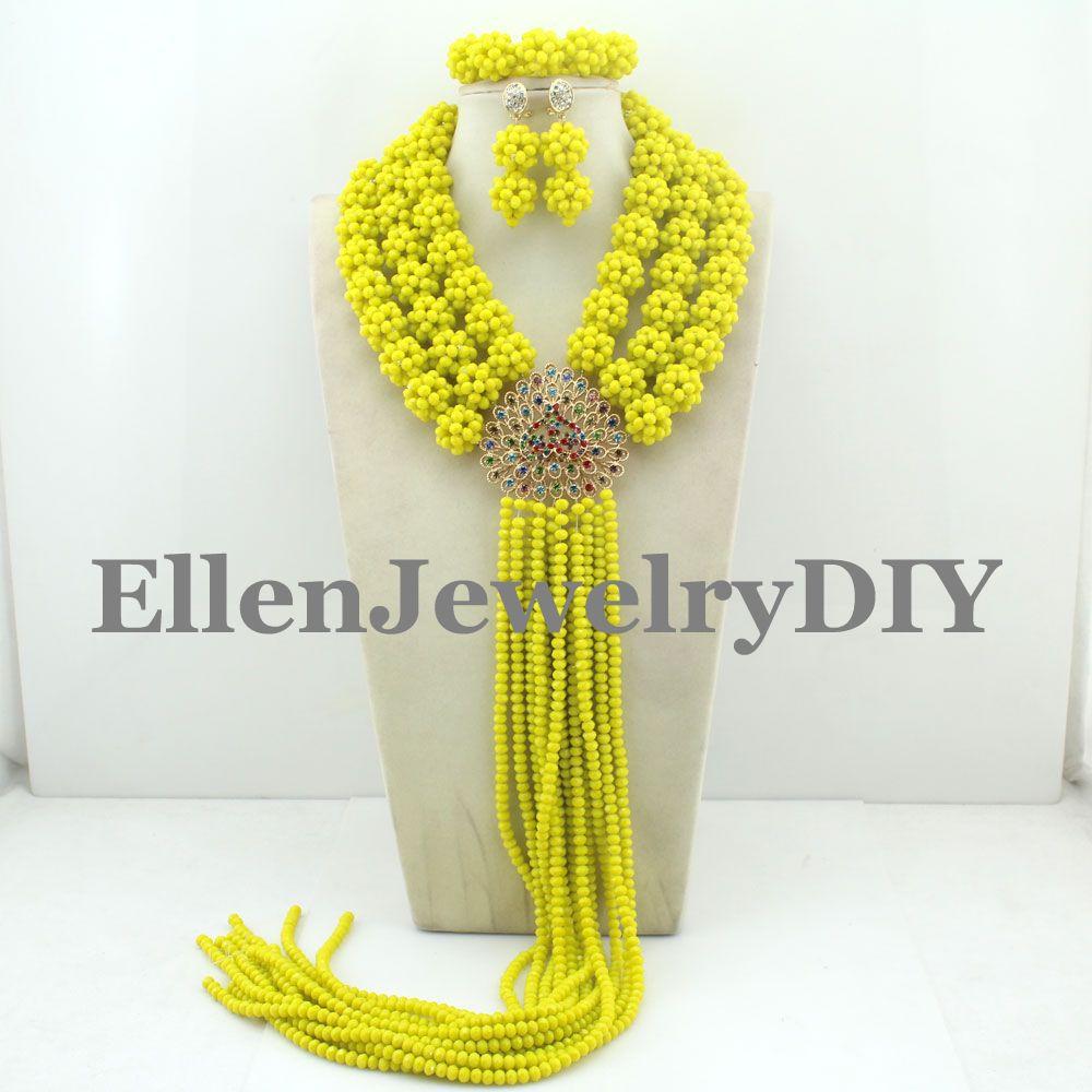 Attractive!!! 2019 African Beads Jewelry Set Nigerian Party African Yellow Jewelry Sets Coral Beads Jewelry Sets W10331Attractive!!! 2019 African Beads Jewelry Set Nigerian Party African Yellow Jewelry Sets Coral Beads Jewelry Sets W10331