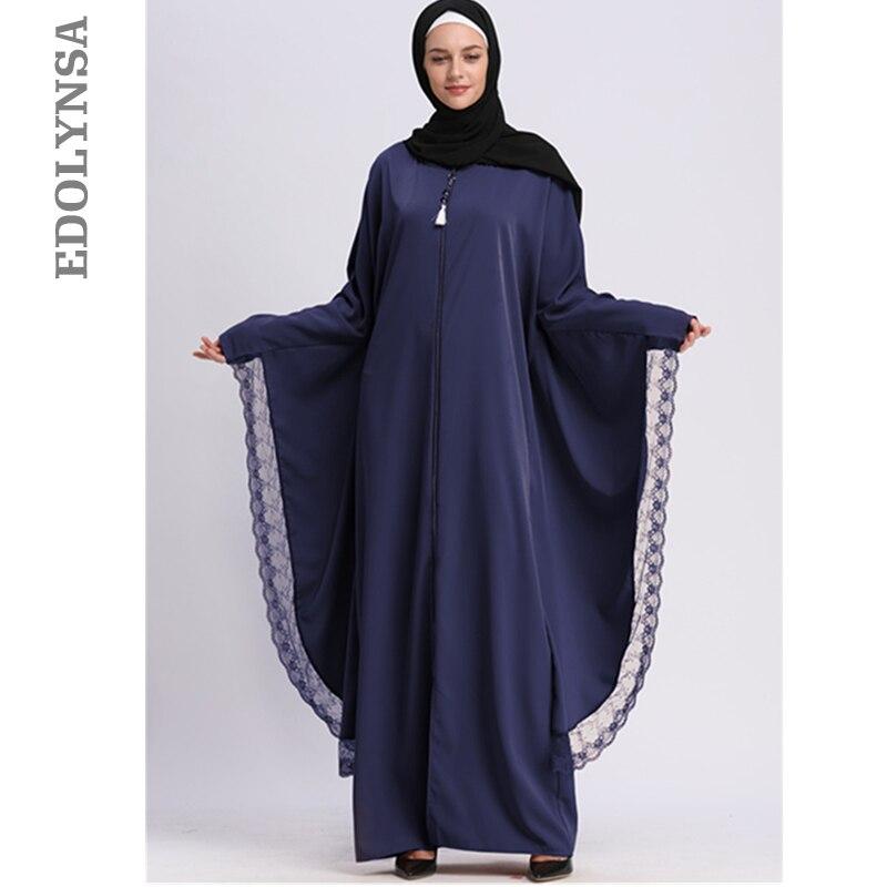 Modest Islamic Dress Islam Women Clothing Muslim Dress Moroccan Kaftan Dubai Hijab Qatar Turkish Abaya Elegant Robe Caftan D719 Одежда