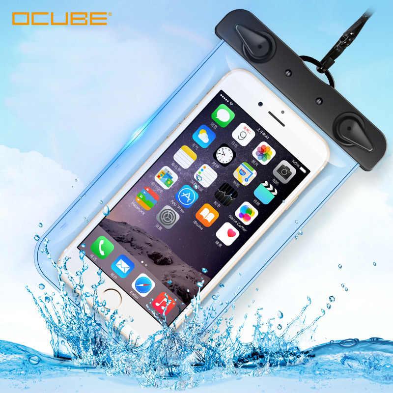 防水電話ケースフロート防水ポーチモバイル携帯用 Xiaomi サムスン Iphone の Huawei 社名誉 20 スマートフォンアクセサリー