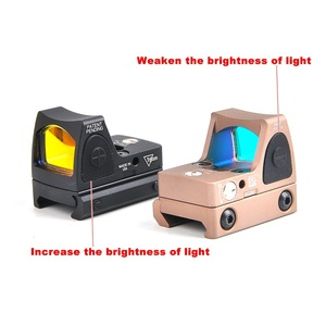 Image 3 - מיני RMR RED Dot Sight Collimator גלוק/רובה רפלקס Sight fit 20mm יבר רכבת לאיירסופט/ציד רובה