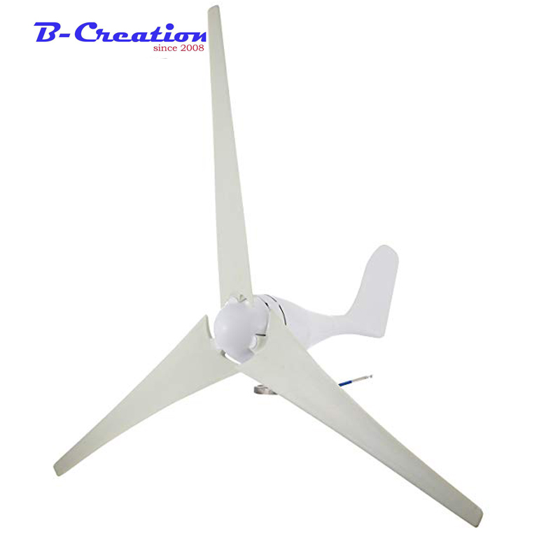 400 w Residentia générateur de vent 12 v 24 v Micro vent Turbinen générateur prix fabriqués pour un usage domestique, une utilisation de bateau et un réverbère