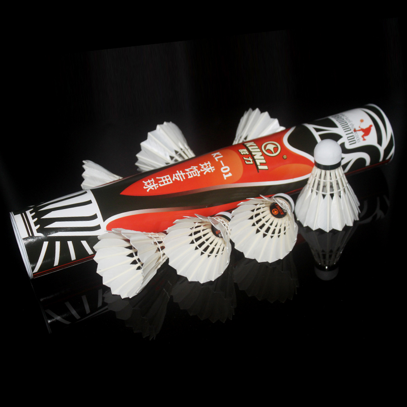 2 Dozen Kunli Kl-01 Duck Feather Durable Badminton Shuttlecocks For Tournament Bälle Badminton