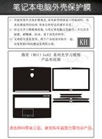 KH Laptop Carbon Fiber Snake Leather Sticker Skin Cover Protector For MSI GE62 GE62VR GL62 GL62M