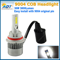 C6 C0B 9007 Car Auto Vechile LED Headlight Kit H4 H13 9007 Fog Lamp Light Headlamp