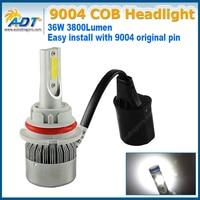 C6 C0B 9007 Car Auto Vechile LED Headlight Kit H4 H13 9007 Fog Lamp Light Headlamp