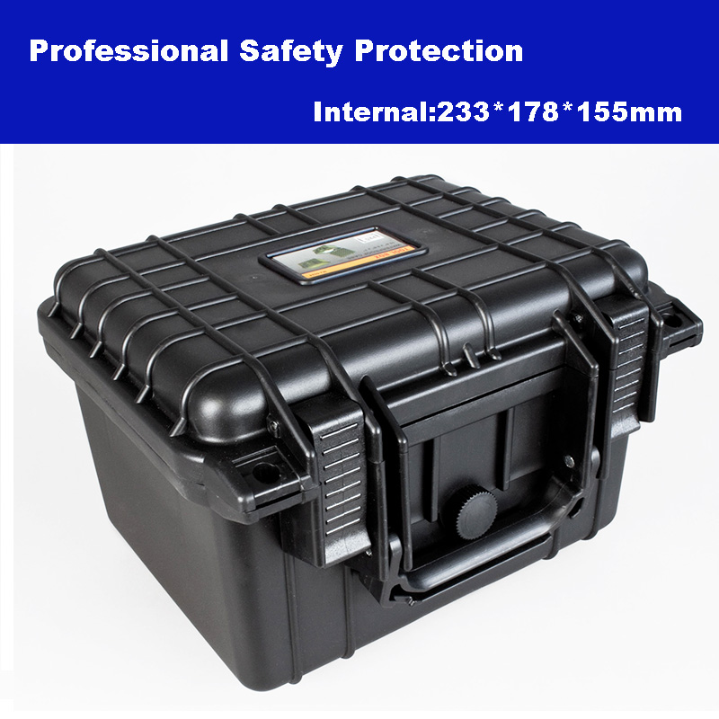 Professional Tool Case Toolbox Suitcase Impact Resistant Sealed Waterproof Plastic Case Equipment Box Camera Case With Foam