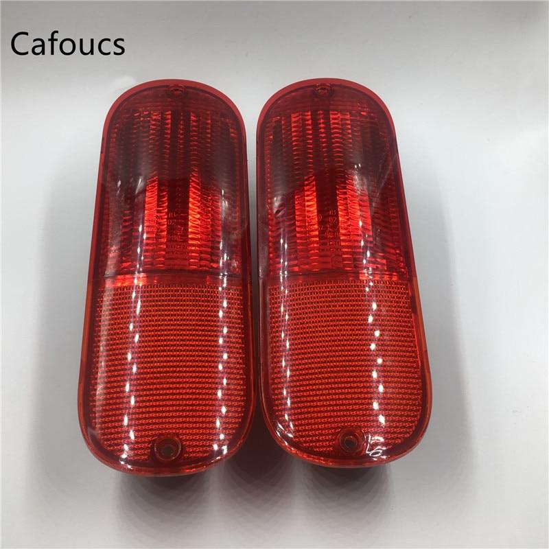 Cafoucs для джип коммандер Светоотражающий фонарь заднего бампера фонари без ламп