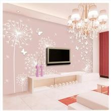 Custom 3d wallpaper simple modern style hall bedroom TV background mural high-grade waterproof material