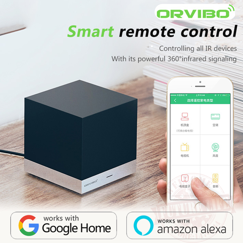 Alexa & Google Home Voice control Orvibo MagicCube XiaoFang WiFi IR Remote control Smart Home Automation by iOS Android orvibo wifi s20 ul