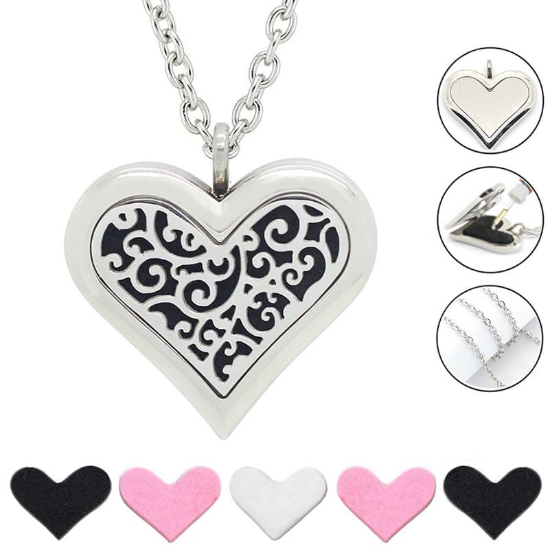 Besplatno s lancem kao poklon! Vruća ogrlica od 35 mm velikog srca - Modni nakit - Foto 1
