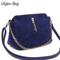 Women Bag Bolsas Handbag Suede Leather Women Messenger Bags Tote Good Quality Pouch Shoulder Bags