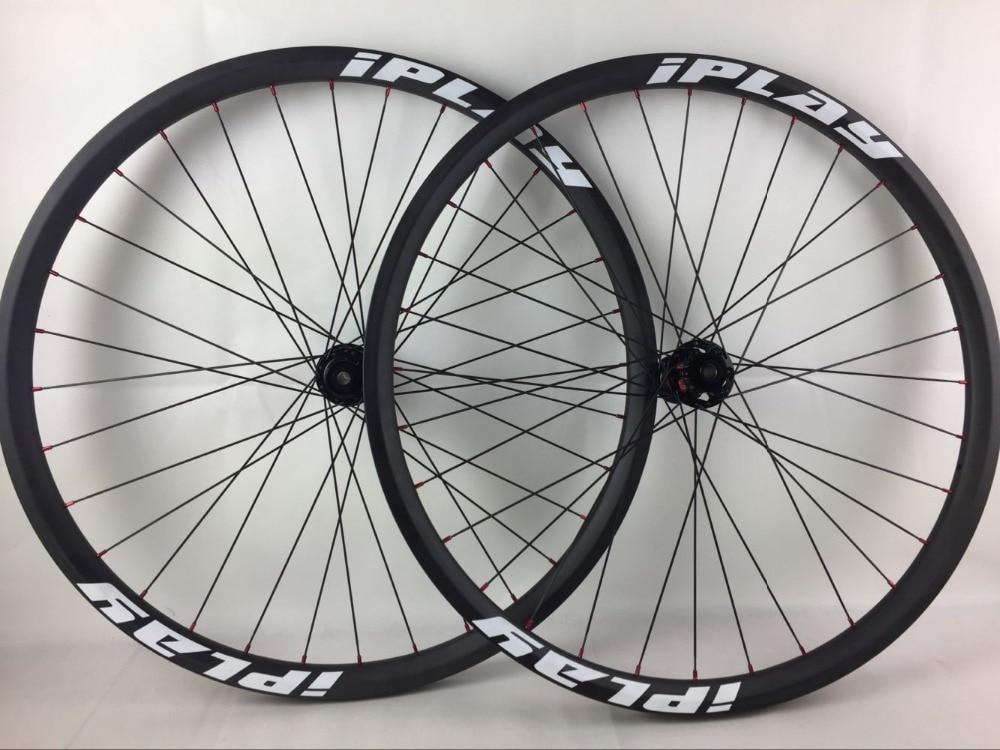 IPLAY 110 148 BOOST carbon MTB wheel BOOST 27 5er Carbon fiber wheel 35mm Width 650b