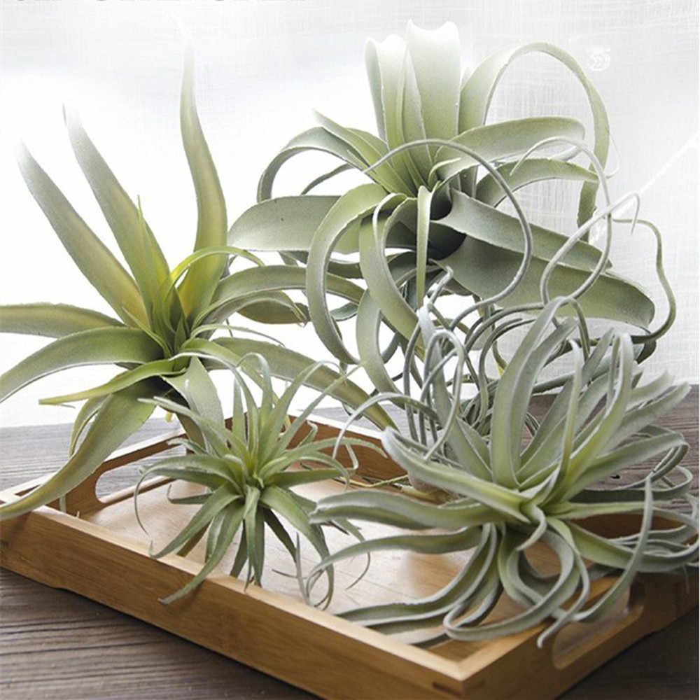 Cilected Artificial Pineapple Grass Air Plants Fake Flowers Faux