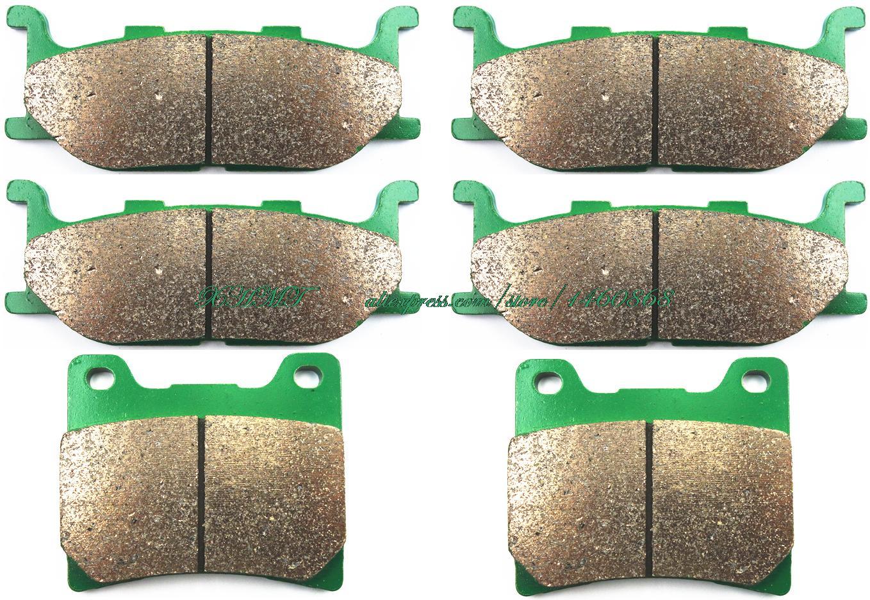 Brake Shoe Pads Set For Yamaha Xj6f Xj 900 Seca Diversion 1995 1996 1997 1998 1999 2000 2001 2002 2003