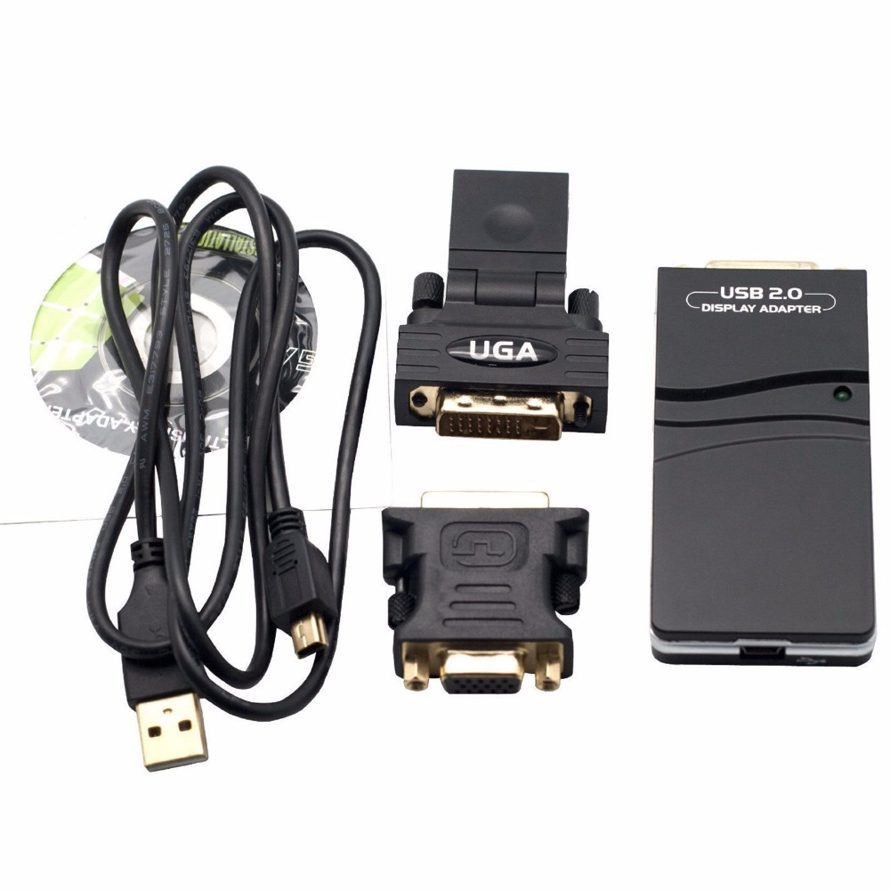 usb 2 0 to vga dvi hdmi multi display adapter video graphics adapter for multiple monitors. Black Bedroom Furniture Sets. Home Design Ideas