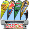 "Free ship Graphic custom printing for ""P"" type teardrop flag banner graphic replacement promotion,celebration, advertising event"