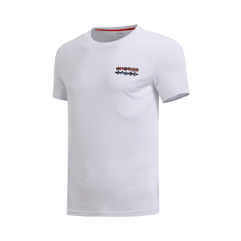 Li-Ning Men The Trend T-Shirt 100% Cotton Regular Fit Breathable Comfort LiNing Fitness Sports Tee Tops AHSN155 MTS2773 3