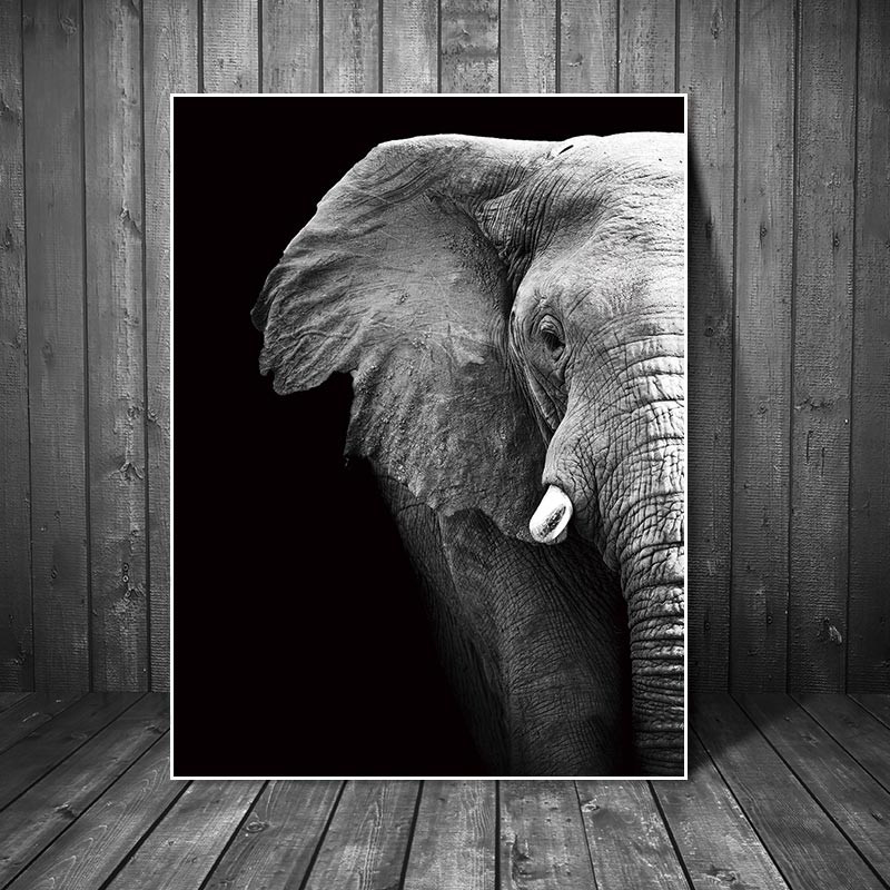 Canvas Painting Pictures abstract painting art  prints animals on canvas Wall poster painting home decoration for living room