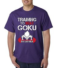 High Quality New Fashion T Shirt Graphic Letter New Way 210 – Unisex T-shirt Trainer To Beat Goku Or At Least Krillin Gyms