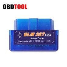 цена на Latest Version V2.1 Super MINI ELM327 Bluetooth OBD / OBD2 Wireless ELM 327 Works ON Android Torque/PC
