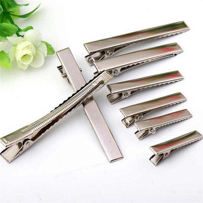 30mm 35mm 40mm 45mm 55mm 65mm 75mm 95mm Black white Duck Metal HairPins Children Hairgrips Women