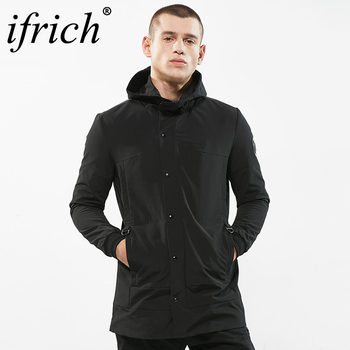 Trench Coat Brand New Hoodies Men Clothing Top Quality Male Black Trench Windbreaker Jacket Plus Size 3XL Long Coat Men Hombre