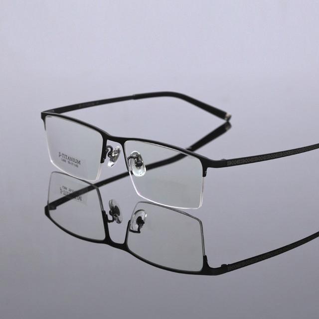 2016 Marca Homens Armações De Óculos De Titânio Puro Óculos Ópticos Armação dos óculos de Prescrição óculos de Leitura quadro TG068