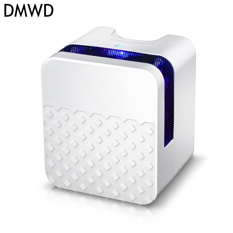 DMWD 25W 220V Portable Mini Dehumidifier Electric Quiet Air Dryer semiconductor Air Dehumidifier Water full automatic power-off