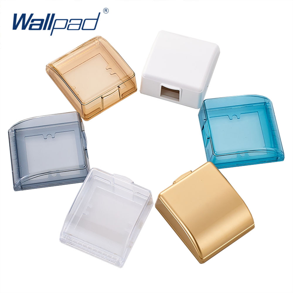 86Type Wallpad Waterproof Box For 86*86mm Wall Switch And Socket 6 Colors Optional 45*95*110mm Free Shipping ...