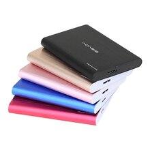 """Acasis Оригинал 2.5 """"Новый Стиль Портативный внешний жесткий диск 250 ГБ USB3.0 высокое Скорость HDD для ноутбуков и настольных компьютеров"""