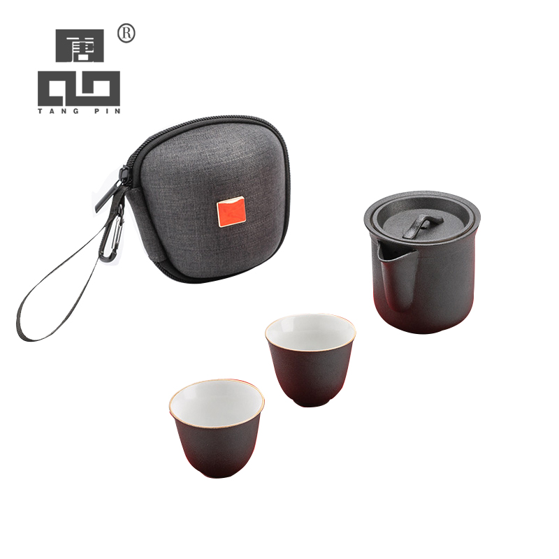 TANGPIN ceramic teapot teacups a tea sets portable travel tea sets with travel bag