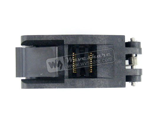 module SSOP20 TSSOP20 FP-20-0.65-01A Enplas IC Test Burn-in Socket Programming Adapter 0.65mm Pitch 4.4mm Width module so32 soic32 sop32 to dip32 a 652d032221x wells ic programming adapter test burn in socket 1 27mm pitch 7 55mm width