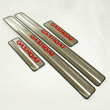 For Nissan Qashqai Door Sill Scuff Plate Welcome Pedal Stainless Steel Car font b Styling b