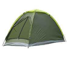 Two Person Beach Tent UV-resistant Outdoor Camping Tent Beach Kit Single Layer Fishing Tent with Carry Bag for Hiking Traveling