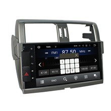 10.2 Inch Full Touch Screen Android 5.1.1 system Car Video GPS Special for Toyota Prado 150 2014 2015 2016 with CAN BUS