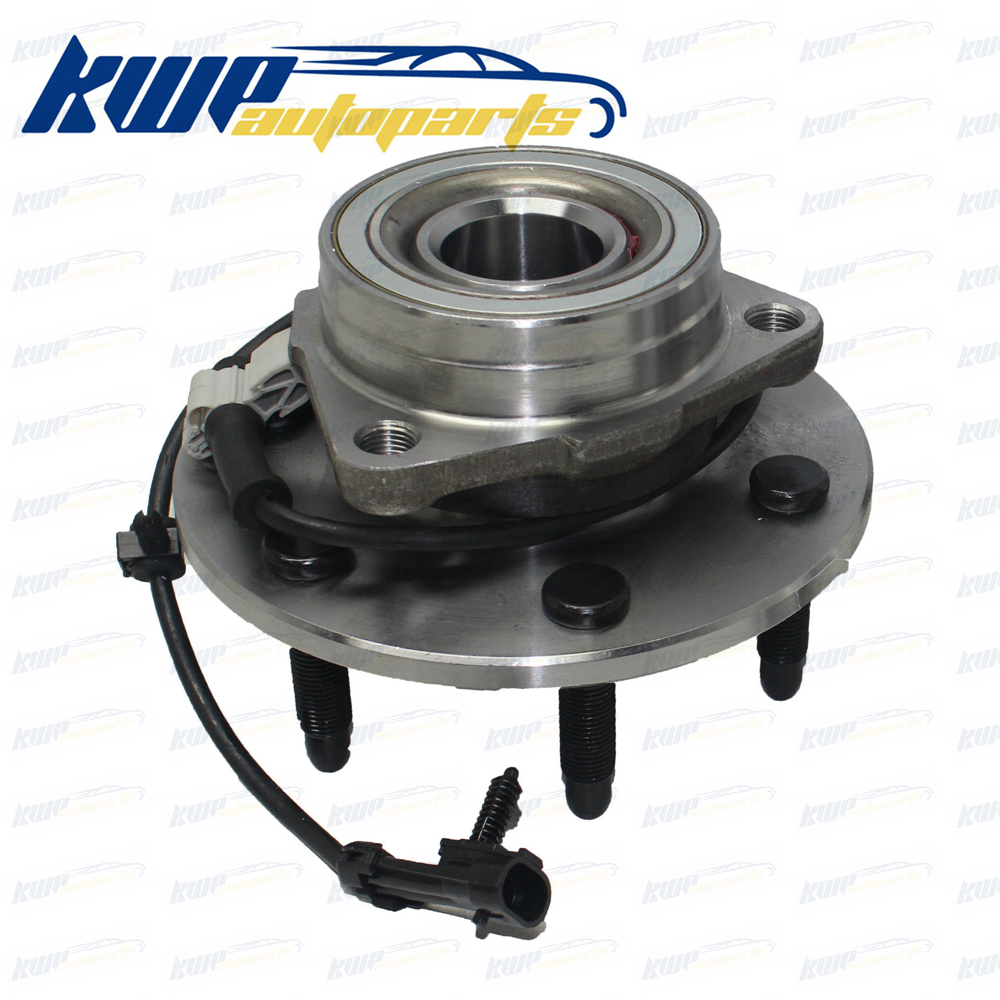 Front Wheel Bearing & Hub Assembly For 99-07 Chevy Silverado 1500 Tahoe Escalade #515036 ...